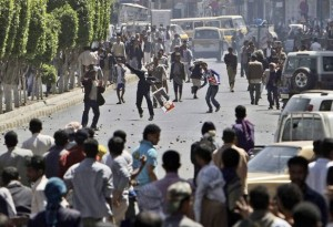 latest news Yemen protests