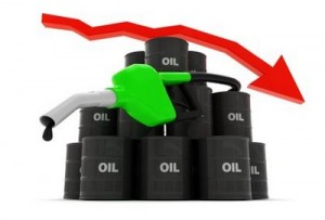Crude oil prices drop