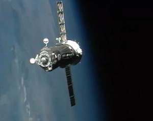 gagarin-spaceship-arrives-at-International-Space-Station