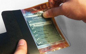 Latest news, new SMARTPHONE, Flexible smartphone, made of electronic paper
