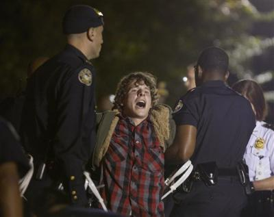 Latest news, Wall Street Protest Atlanta arrested people