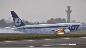 A plane from USA-crashes-in-Poland